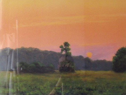 """Middle Field"" 2004, Fine Art Limited Edition Artist's Proof, 17.75 x 23.75 inches"