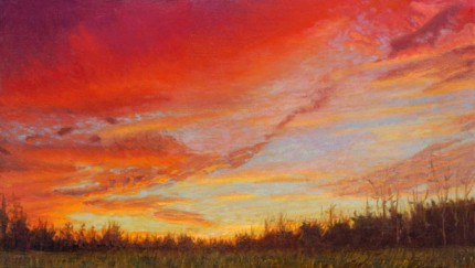 """Twilight in Alamance County"" 2011, Fine Art Limited Edition, Edition of 5, 30 x 50 inches"