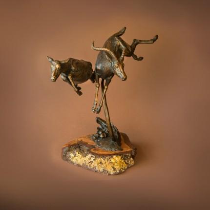 """""""Antelopes"""" Bronze"""