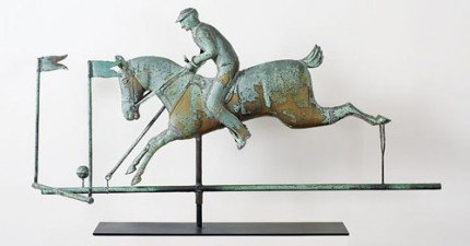 """Polo Weathervane"" 18th Century - Custom Orders Available"