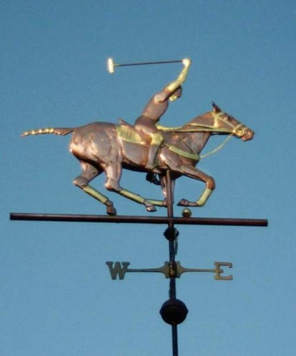Custom Polo Weathervane