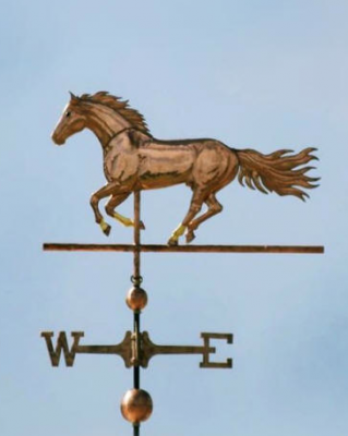 """Running Stallion Weathervane"" Custom Orders Available"