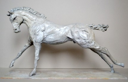 """Colt"" Limited Edition: 9, Bronze, 60 x 36 x 16 cm, Signed"