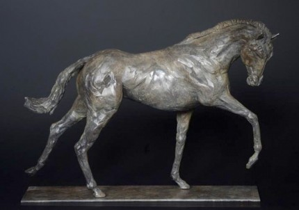 """Stallion"" (60% Life Size) Limited Edition: 6, Bronze, 6 x 4 x 2 feet, Signed"