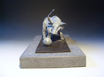 """Inquisition"" Bronze, Edition of 9, 35 x 17 x 18 cm"