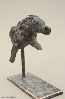 """Running Horse"" Bronze, Edition of 15, 20 x 16 x 8 cm"