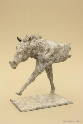 """Striding Horse"" Bronze, Edition of 12, 29 x 30 x 14 cm"