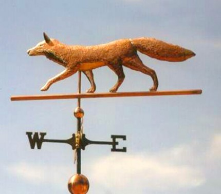 Trotting Fox Weathervane
