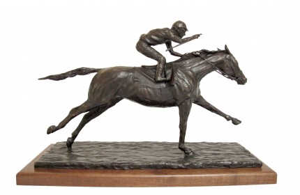 """""""El Festejo"""" Bronze, Series of 15, 12 x 19 x 5.5 inches, Signed & Numbered"""