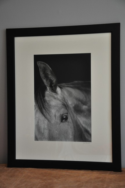 """Forte"" gelatin silver print, 31 x 25 inches matted and framed, signed"
