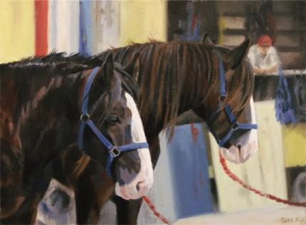 """Fair Days, Oil on Canvas, 16 x 12"""""""
