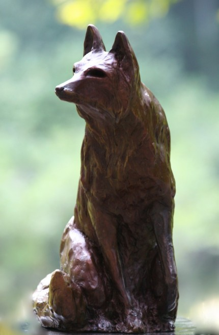 """The Fox"" Bronze, 2 A/P, Edition of 15, 16 x 11 x 7 inches"