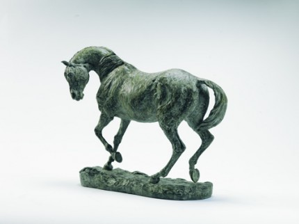 """""""Force Majeure"""" Bronze, Edition of 12, 13 x 15.7 inches"""