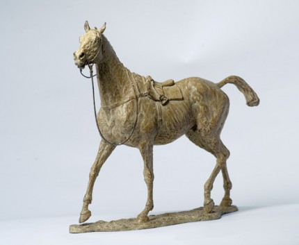 """""""Loose Horse"""" Bronze, Edition of 12, 15.7 x 17.3 inches"""