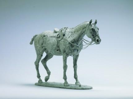 """Maltese Cat"" Bronze, Edition of 12, 10.6 x 17 inches"