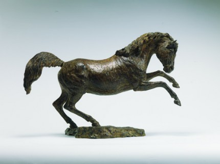 """""""Whistlejacket"""" Bronze, Edition of 12, 12.2 x 16.9 inches"""