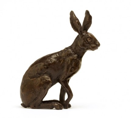 Little Hare, Bronze, Edition of 20, 13 cm high