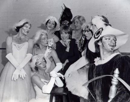 Shirley MacLaine and the Ballets Trockadero