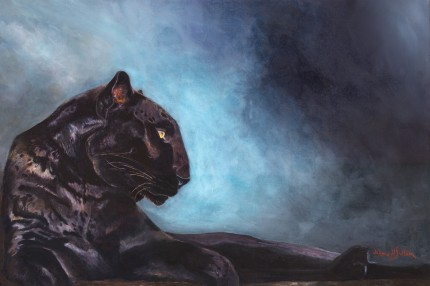 """""""The Thinker Black Panther"""""""