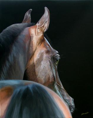 """Arabian Beauty, Acrylic on Canvas, 16""""x20"""""""