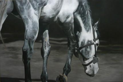 "One Small Step, Acrylic on Canvas, 20""x30"""