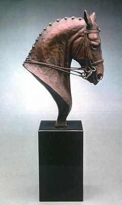 """Aristocrat"" Bronze, Edition of 30, 13 x 11 x 3.5 inches"
