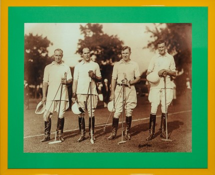 "Freudy ""The International Cup of 1927"" B&W Photograph, 15 x 19.5 inches 