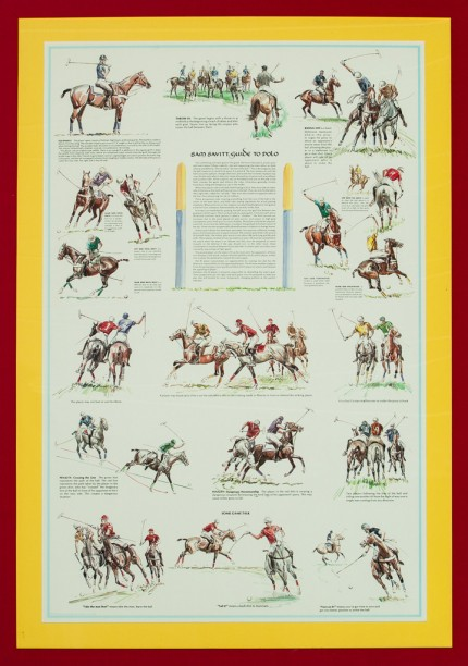 "Sam Savitt, American (1917-2000) ""Guide to Polo"""