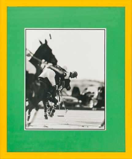 """Polo Players 2"" Photograph, 13.5 x 10.5 inches"