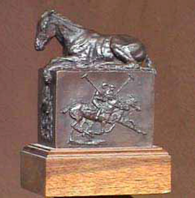 "Rich Roenisch, Canadian Contemporary ""The Journey"" Bronze, Limited Edition, 7 x 5 x 3 ½ inches, Signed and Numbered"