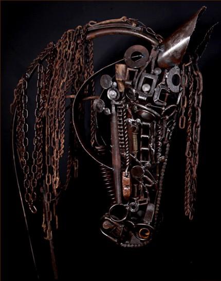 """Jenny Horstman, American Contemporary """"Lamando Horse"""""""