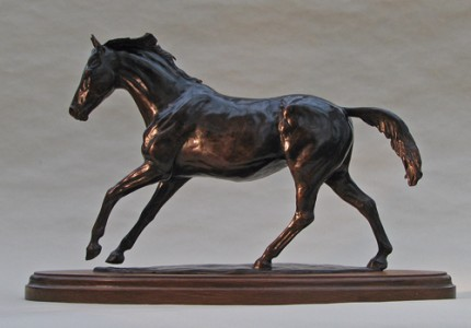 "Deborah Burt, British Contemporary ""Summer Holidays"" Bronze, Edition of 3, 9 x 5 x 14 inches, Signed"