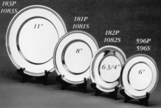 Pewter Plates