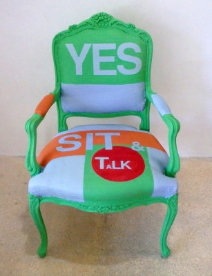 """The YES Chair"""
