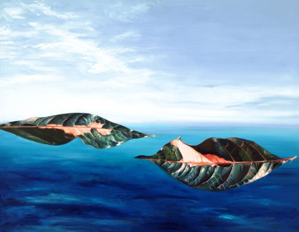 """Islands in the Aegean"" Oil on canvas, 22 x 28 inches, Signed"