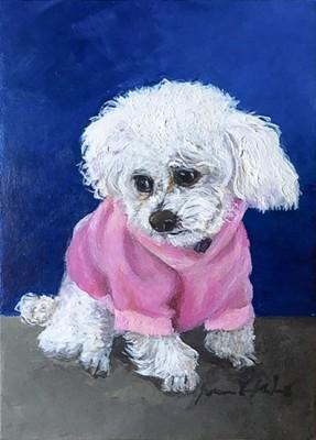 """""""Eloise"""" Oil on canvas"""