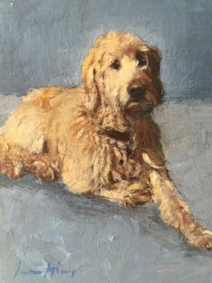 """Prince Albert"" Oil on canvas"
