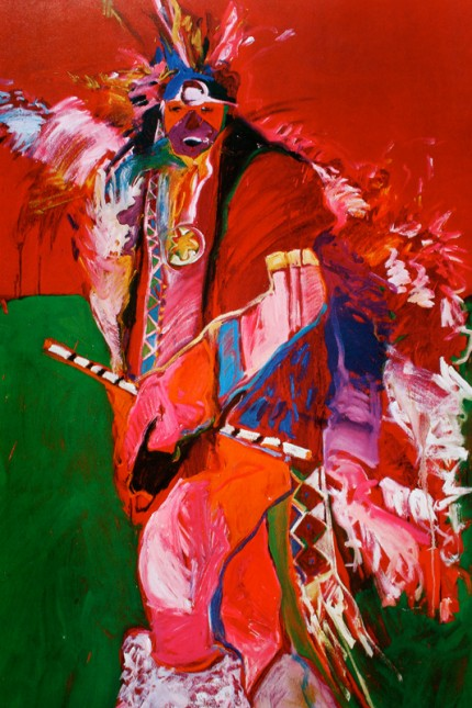 """""""Fancy Dancer"""" 1978, Elaine Horwitch Galleries, Limited Edition Poster, 28 x 24 inches"""