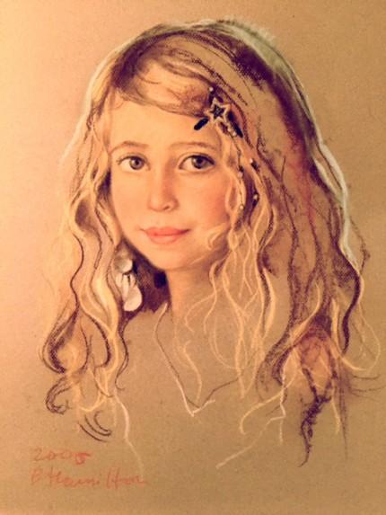 """""""Zoe Zeeman, granddaughter of Joan Javits Zeeman"""""""