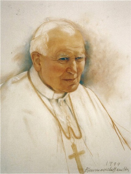 """""""Pope John Paul II"""" 1999"""