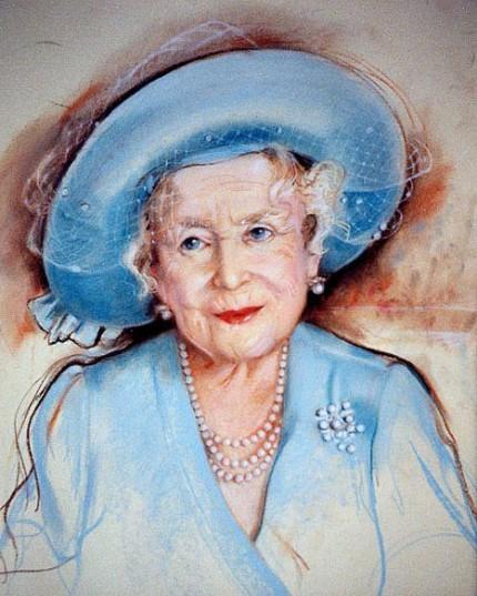 """""""Queen Elisabeth II, The Queen Mother"""" October 25th, 2001"""