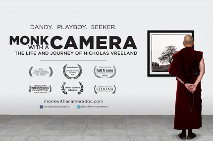 """Promotion for the Documentary Film """"Monk with a Camera"""""""