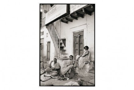 """""""Three sweepers, Hubli"""" Gelatin silver print, Edition of 25, Paper size: 50 x 60 cms, Also available in 40 x 50 cms & 76 x 100 cms"""