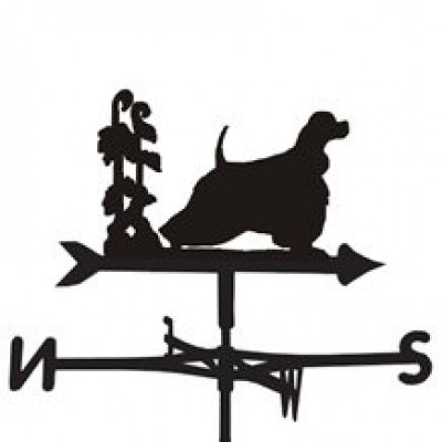 American Cocker Weathervane