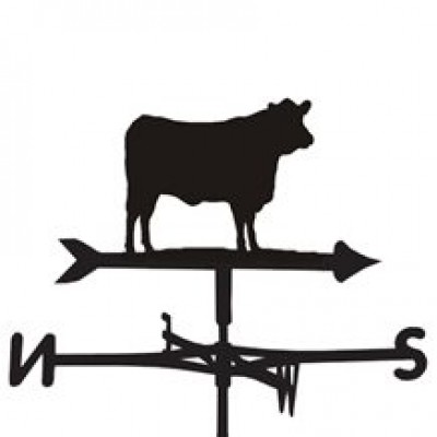 Angus Cow Weathervane