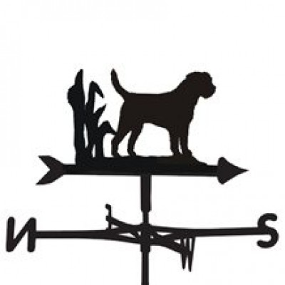 Border Terrier Weathervane