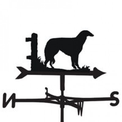 Borzoi Weathervane