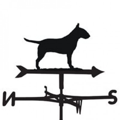 Bull Terrier Weathervane