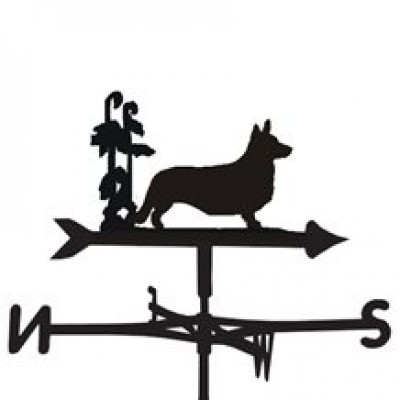 Corgi Cardigan Weathervane