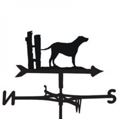 Curly Coated Retriever Weathervane
